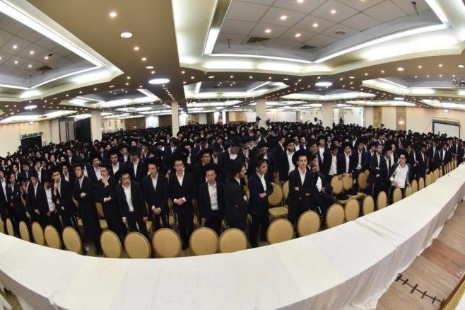 גלריה: כינוס בני הישיבות בראשות גדולי ישראל