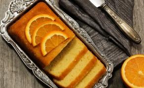 עוגת תפוזים חורפית רכה ועסיסית