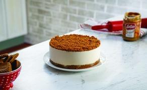 עוגת גבינה פירורי לוטוס