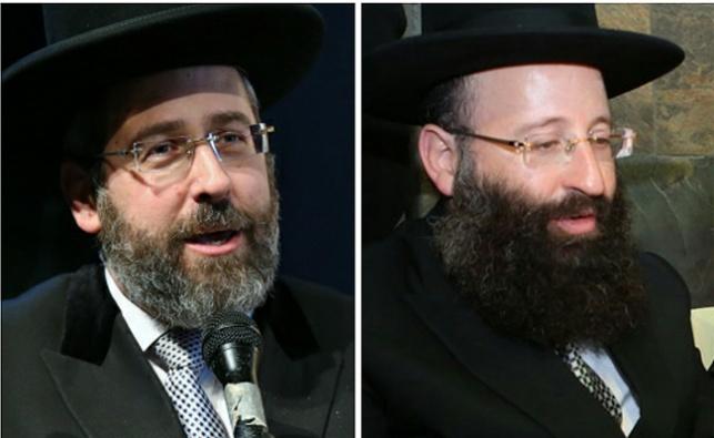 הרב רבינוביץ והרב לאו