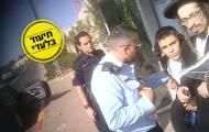 מצלמות נסתרות: כך הקיצוניים מתעדים שוטרים בהפגנות