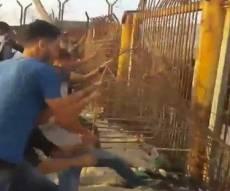 """צה""""ל: הגדר שנפגעה כלל  לא היתה פעילה"""