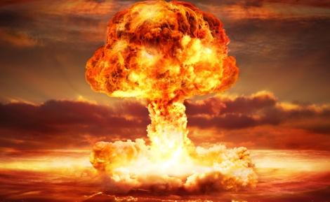 """פצצת אטום, אילוסטרציה - """"יותר מהשואה"""": הרב שחזה את האיום הקוריאני?"""