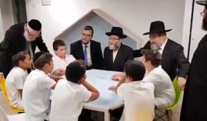 גפני בירך ילדים בעברית - ותורגם לצרפתית