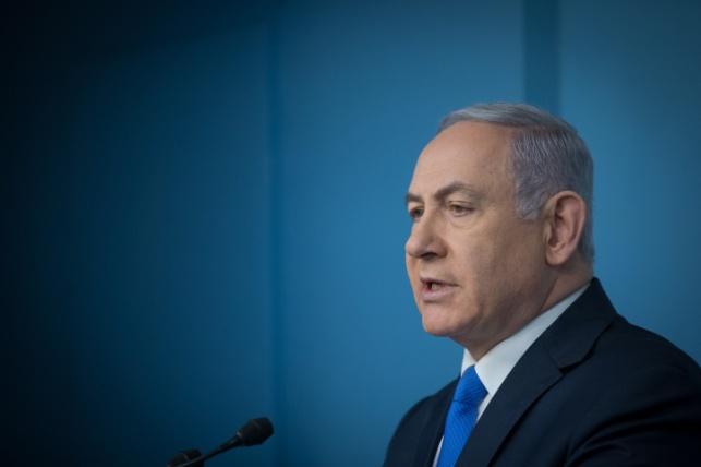 נתניהו דיבר על סיפוח והרגיז את הפלסטינים