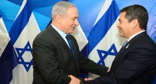 הרננדס בפגישתו עם נתניהו - נשיא הונדורס שוקל שוב את הגעתו לישראל