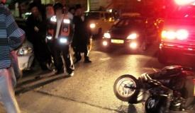 רוכב אופנוע חרדי נפגע באורח קשה מאוד