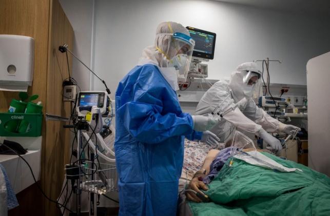 טיפול בחולה קורונה