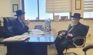 """נשיא בית הדין הגר""""ד לאו מינה ראב""""ד בנתניה"""