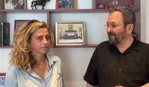 נכדתו של יצחק רבין מצטרפת לאהוד ברק