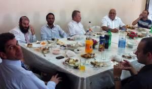 הפגישה באומן (צילומים: סוכנות חדשות 24)