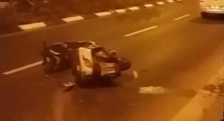 י-ם: נער מ'שובו בנים' נהרג בתאונת אופנוע