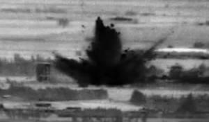 """חריג: צה""""ל מפיץ את תיעוד התקיפה בסוריה"""