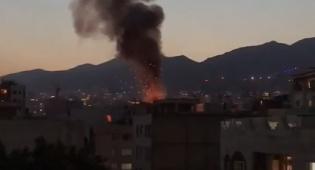 תיעוד מאיראן: פיצוץ, אש ועשן בשמי טהראן