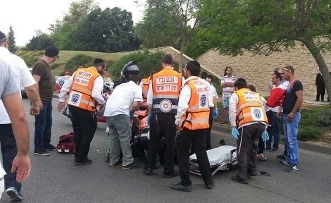 תאונה, אילוסטרציה - ילד בן 6 נפצע קשה מרכב במודיעין עילית