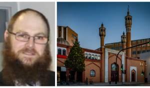 מסגד במערב לונדון; הרב מרדכי וולנברג