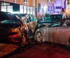 בגלל מזג האוויר: 75 רכבים התנגשו בתאונה אחת