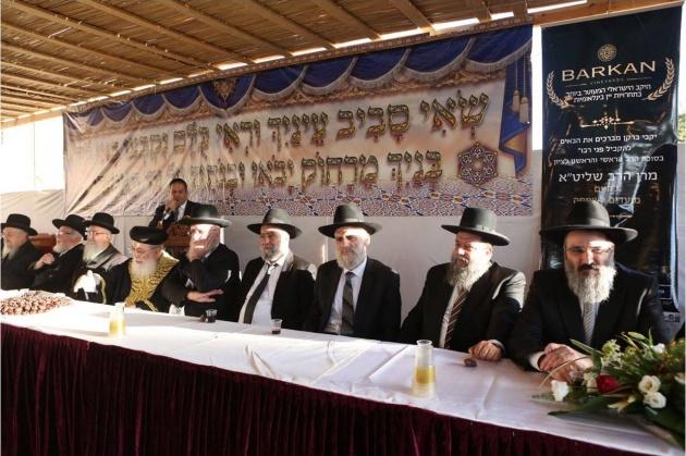 הרבנים הראשיים לירושלים בירכו על יקבי ברקן