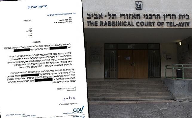 בית הדין הרבני בתל אביב. ארכיון