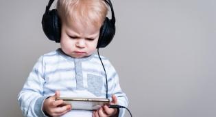 ילדים וטכנולוגיה (אילוסטרציה)