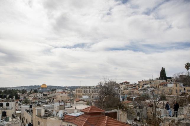 ירושלים מעוננת, אתמול