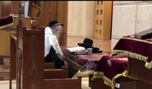 """הרב הראשי בתפילת ר""""ח ב'מארינה רושצ'ה'"""