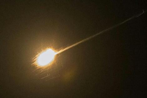 """היירוט המוצלח של הטיל הסורי, על ידי מערכת החץ - הטיל שה'חץ' יירט נשא 200 ק""""ג חומר נפץ"""