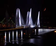 4 שנים ב-2 דקות: כך נבנה הגשר החדש בהדסון