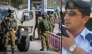 המחבל הפלסטיני לצד זירת הפיגוע