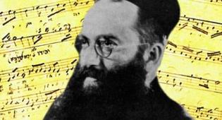 יוסל'ה רוזנבלט לצד התווים שכתב - חשיפה:  הלחן הגנוז של מלך החזנים היהודים