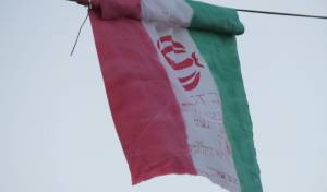 בלב ירושלים מתנופף לו דגל איראן; תיעוד