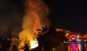 """גל השריפות בי-ם: """"יכול היה להיגמר טראגי"""""""