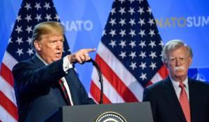 טראמפ: 'בולטון אחד המטומטמים הגדולים'