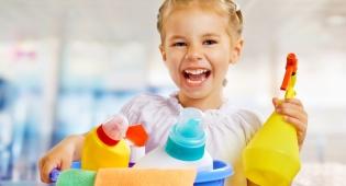 כך תגנו על הילדים מחומרי הניקוי