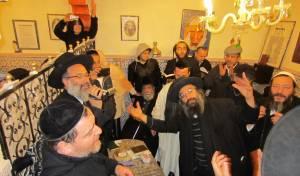 יהודים בהילולא במרוקו