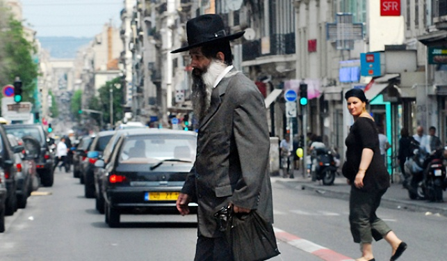 יהודי חרדי בצרפת