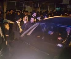 """מרן הגר""""ח - גדולי ישראל במסע ההלוייה בבני ברק. צפו"""
