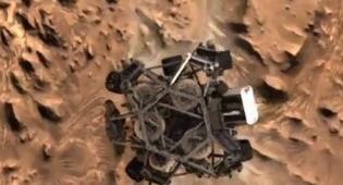 צפו: הרגע בו נחת רכב החלל על המאדים