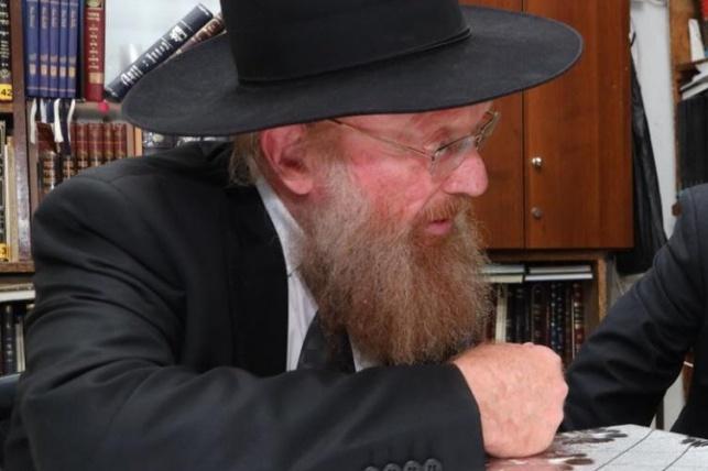 מנהל הסמינר הרב הילדסהיימר