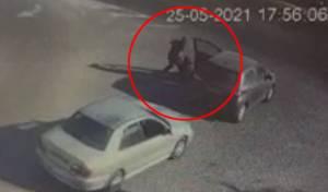 הערבים השליכו את הנהגת וגנבו את הרכב