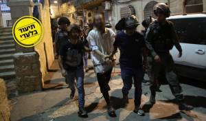 המשטרה פשטה על שכונת מאה שערים ועצרה 5 חשודים