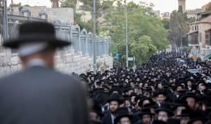 """הפגנת 'העדה' - בהפגנת השבת: הראב""""ד שיבח את טראמפ"""