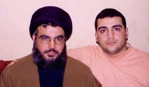 חסן נסראללה ובנו ג'וואד