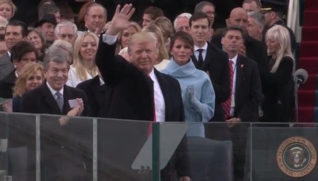 טראמפ בהשבעתו