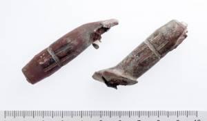 """קליעי 9 מ""""מ ששימשו לתת מקלע עוזי - כלי הנשק התגלו בתוך עפר מהר הבית. צפו"""