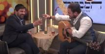 מרדכי חסידים ב'לחיים' עם זלמן שטוב
