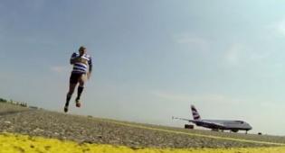 האדם מול המטוס, בסוף האדם ניצח