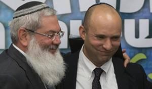 שר הדתות בנט וסגנן בן דהן
