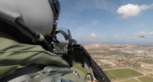 צפו: המטס של חיל האוויר - מתוך ה'קוקפיט'