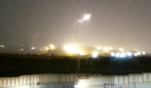 הטילים שנורו מעזה - בגלל ברק? צפו ושפטו